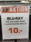 [Berlin Lokal] Saturn Europacenter: Walking Dead Staffel 7 & 8 Steelbok je 10€
