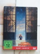[Review] Captain Marvel – 3D Steelbook