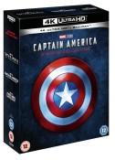 Zoom.co.uk: Captain America: 3-movie Collection (4K Ultra HD + Blu-ray) für 41,50€ inkl. VSK
