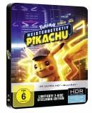[Vorbestellung] Saturn.de: Pokémon Meisterdetektiv Pikachu 4K UHD + 2D Steelbook [Blu-ray] 35,99€ keine VSK