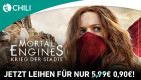 Chili.com: Mortal Engines für 0,90€ zum Leihen. (Nur bis Samstag 10. August)