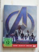[Review] Avengers: Endgame – 3D Steelbook