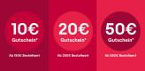 Ebay.de: Gutschein Aktion – 10€ ab 150€, 20€ ab 250€ und 50€ ab 550€