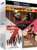 Amazon.fr: Equalizer + Die glorreichen Sieben + Baby Driver [4K Ultra HD + Blu-ray] für 32€ inkl. VSK