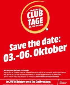 Mediamarkt Club Tage