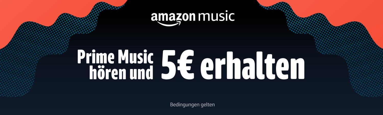 Amazon Prime: 30 Sekunden Musik über Prime Music streamen
