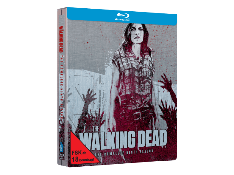 The-Walking-Dead---Staffel-9-(Exklusives-Steelbook)---(Blu-ray)