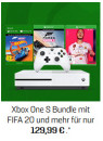 Gamestop.de: Microsoft Xbox One S 1TB – The Division 2 Bundle + FIFA 20 für 189,99€ + VSK