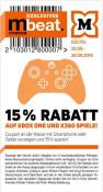 [Offline] Müller: 15% Rabatt auf alle Xbox One und 360 Spiele (gültig vom 20.09.-26.09.2019)