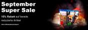 ReBuy.de: September Super Sale mit 15 % Rabatt auf ausgewählte Artikel (ohne MBW)