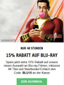 zavvi.de: 15 % auf Blu-ray (nur 48 Stunden) z.B.  Alien Anthology Blu-ray für 11,68€ inkl. VSK