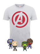 Zavvi.de: Marvel vs Capcom Bundles (1 T-Shirt + 4 Funko-Pop!-Figuren) für je 17,99€ + VSK