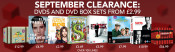 Zoom.co.uk: September Clearance: DVDs and DVD Box Sets From £2.99