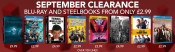 Zoom.co.uk: September Clearance: Blu-rays and Steelbooks From Only £2.99 z.B. Star Trek Steelbooks für ab £3.49