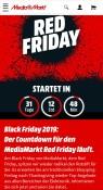 MediaMarkt.de: Red Friday ab 29. November 2019 für volle drei Tage! (10€ Rabatt bei Zahlung mit PayDirekt)