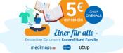 Momox.de/Medimops.de: 5€ Gutschein (An- und Verkauf) und reBuy.de: 50.000 Artikel für je 3,10€ (beides nur heute gültig)
