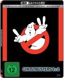 Alphamovies.de: Ghostbusters 1+2 4k (Steelbook) [2 UHD + 3 Blu-ray] 29,94€ inkl. VSK