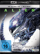 Saturn.de: Alien – 40th Anniversary Edition (4K Ultra HD Blu-ray + Blu-ray) für 14,99€ inkl. VSK