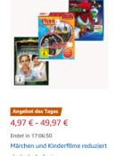Amazon.de: Black Friday Woche Tag 28.11.19 – Märchen und Kinderfilme reduziert z.B. Hotel Transsilvanien 1 -3 Blu-ray Collection für 9,97€ + VSK