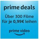 Amazon Prime: Über 300 Filme leihen für je 0,99€ (Nur für Prime-Mitglieder) u.a. mit Alita, Nomis & Brightburn