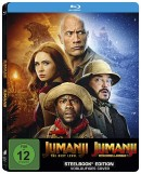 Amazon.de: Jumanji – The Next Level / Jumanji: Willkommen im Dschungel (Exklusiv bei Amazon.de) – Steelbook Blu-ray für 16,97€