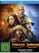 Amazon.de: Jumanji – The Next Level / Jumanji: Willkommen im Dschungel (Exklusiv bei Amazon.de) – Steelbook Blu-ray für 16,97€