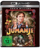Amazon.de: Jumanji (4K Ultra HD) [Blu-ray] für 9,02€ + VSK
