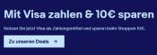 ebay.de: Mit Visa zahlen & 10€ sparen (50€ MBW)