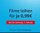 Amazon Prime Deals: Filme für 0,99€ leihen (Nur Prime-Mitglieder)