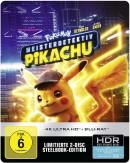 Amazon kontert MediaMarkt.de: Pokémon Meisterdetektiv Pikachu 4K UHD + 2D Steelbook [Blu-ray] für 16,99€ + VSK