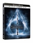 Amazon.fr: Phantastische Tierwesen: Grindelwalds Verbrechen (4K 3D 2D Steelbook) für 22,90€ inkl. VSK