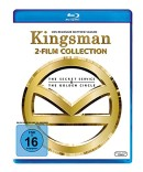 Amazon.de: Kingsman – Teil 1+2 [Blu-ray] für 7,99€ + VSK