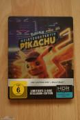 [Fotos] Pokémon Meisterdetektiv Pikachu 4K UHD + 2D Steelbook (Blu-ray)