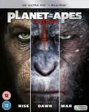 Zavvi.de: 2x 4K UltraHD für 32€ + VSK z.B. Planet Of The Apes Trilogy, Alien, Ready Player One