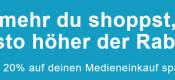 ReBuy.de: Eine Handvoll Rabatt – 5€ Rabatt ab 25€ Mindestbestellwert