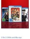 Amazon.de: Neue Aktion – 3 für 2 Aktion auf DVDs und Blu-rays (1021 Filme zur Auswahl, bis 15.03.20)