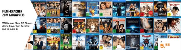 Amazon kontert Saturn.de: Blu-rays für je 5,55€