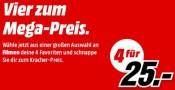 MediaMarkt.de: 4 für 25€ [3D Blu-rays]