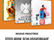 Zavvi.de: STEELBOOK SALE mit 41 teilnehmenden Titeln z.B. Disney Cars und Cars 2 SteelBook ab je 10,99€