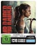 Saturn.de: Entertainment Weekend Deals: z.B. Tomb Raider (Steelbook) [UHD + Blu-ray] für 16,99€ inkl. VSK