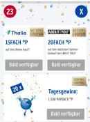 Payback-App: 15-fach Payback-Punkte bei Thalia. Aktivierbar am 23.05.20 und gültig bis 24.05.20