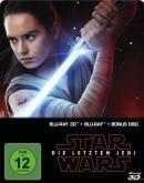 Thalia.de: Star Wars: Episode VIII – Die letzten Jedi Steelbook (2D + Bonus-Blu-ray) für 11,49€ inkl. VSK (als Classic Kunde)