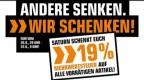 Saturn.de: 19% Mehrwertsteuer geschenkt auf alle sofort verfügbare Artikel ab 20. Juni 20 Uhr – 22. Juni 9 Uhr