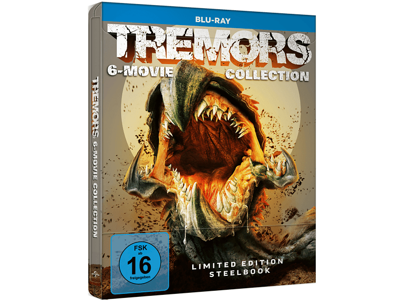Tremors-6-Movie-Collection---Blu-ray---Steelbook-(Limited-Edition)---(Blu-ray)