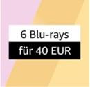 Amazon.de: Neue Aktionen u.a. 6 für 40 EUR: Blu-rays im Sparpaket