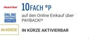 [Vorankündigung] MediaMarkt.de: 10fach Payback Punkte nur morgen am 13. September!