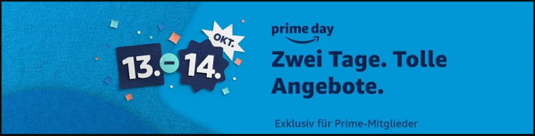 [INFO] Amazon Prime: 10€ Gutschein für Prime Day am 13./14. Oktober 2020 erhalten