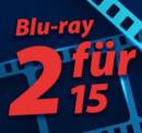 Müller.de: 2 Blu-ray für 15€ Aktion