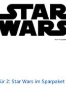 Amazon.de: 3 für 2 – Star Wars im Sparpaket (gültig bis 16.01.2021)