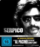 Amazon.de: Serpico 4k Limited Steelbook [UHD + Blu-ray] für 23,16€ + VSK